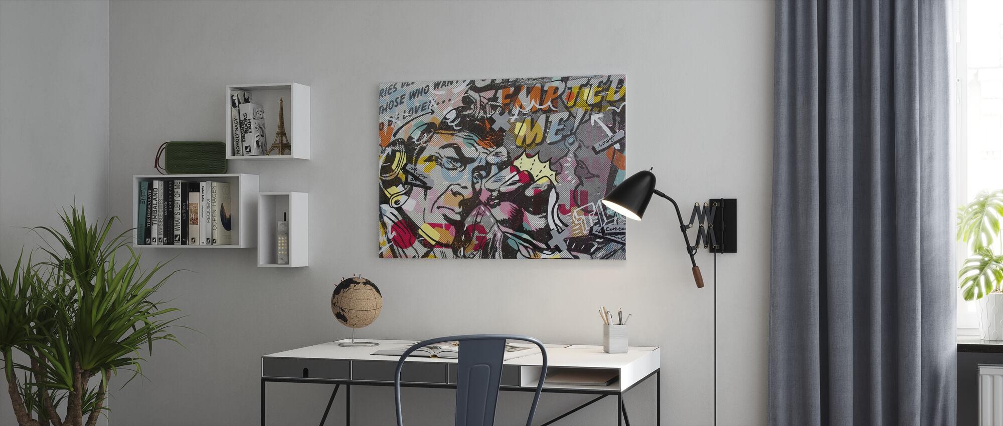 Mimosas - Canvas print - Office