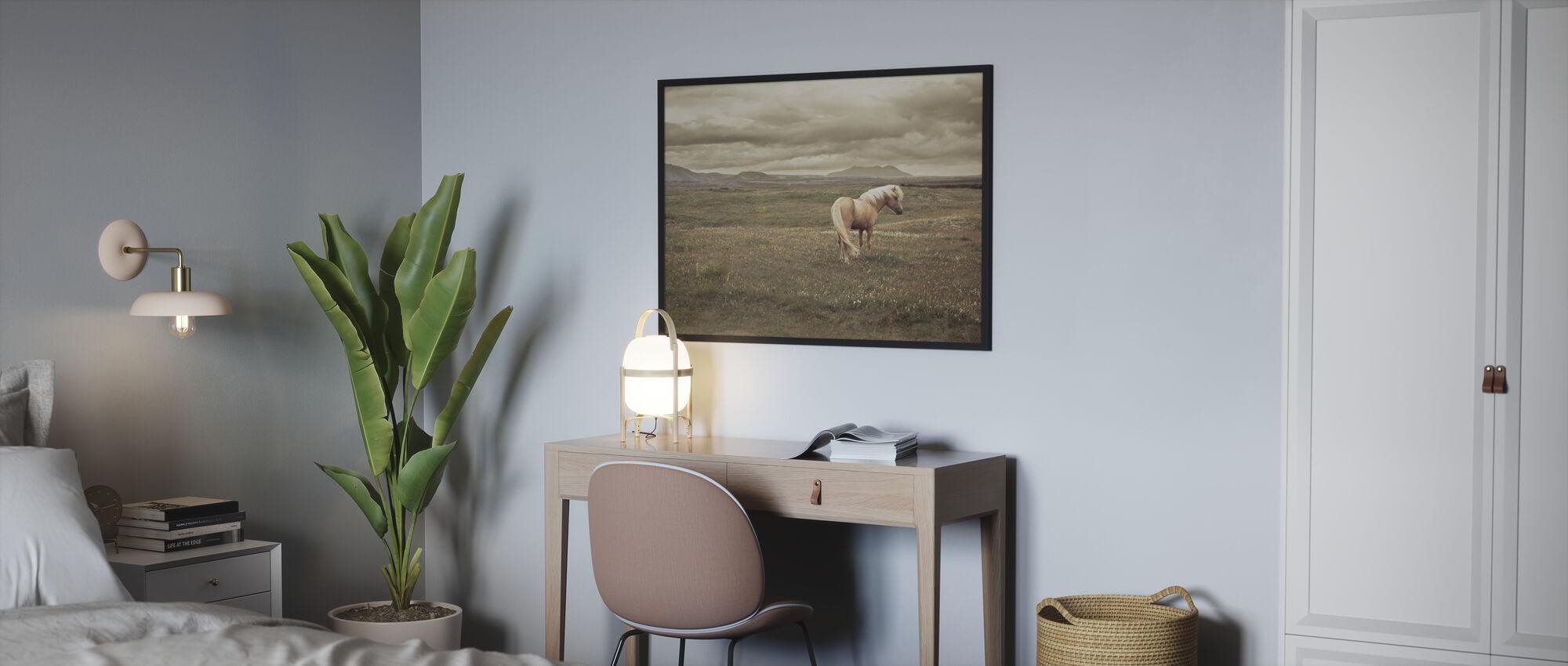 Islandsk hest - Plakat - Soverom