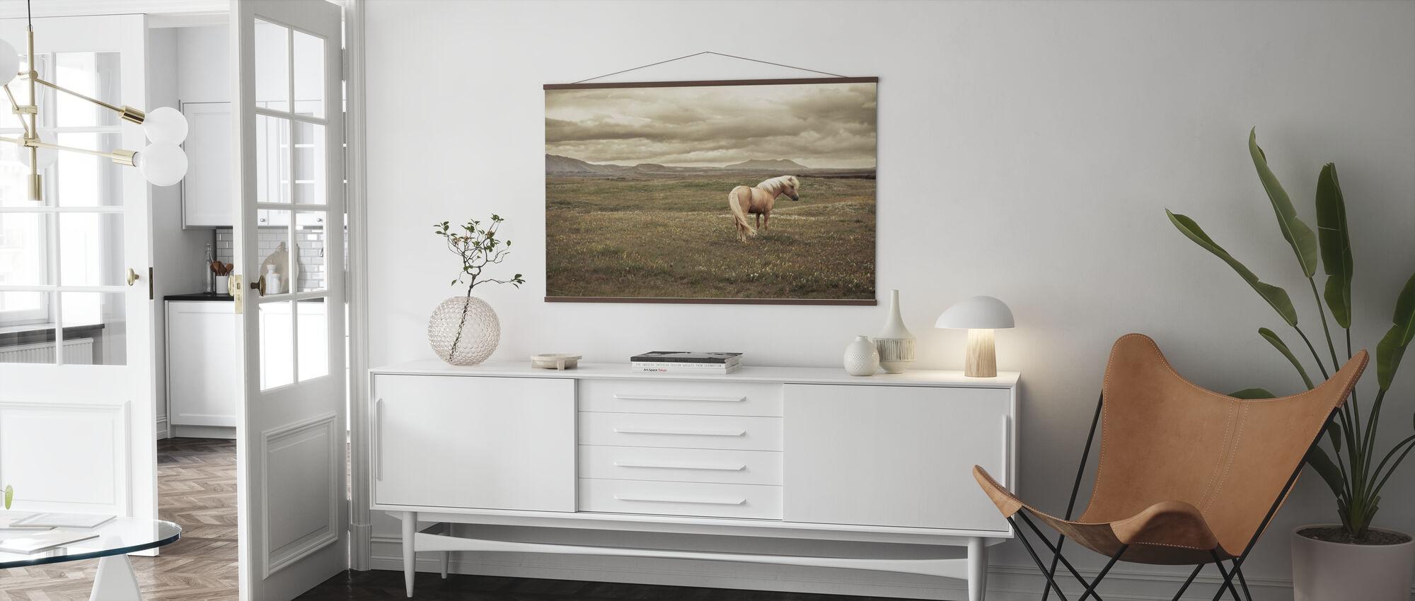 Islandsk hest - Plakat - Stue