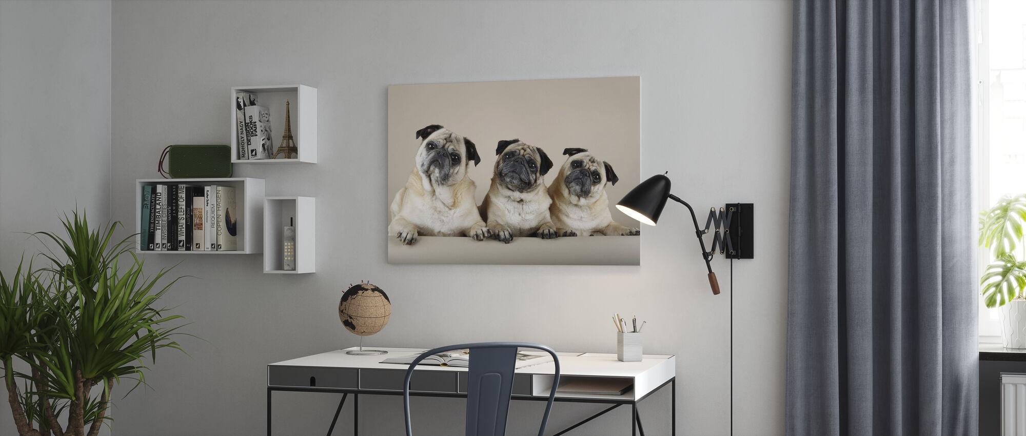 Trio - Canvas print - Office