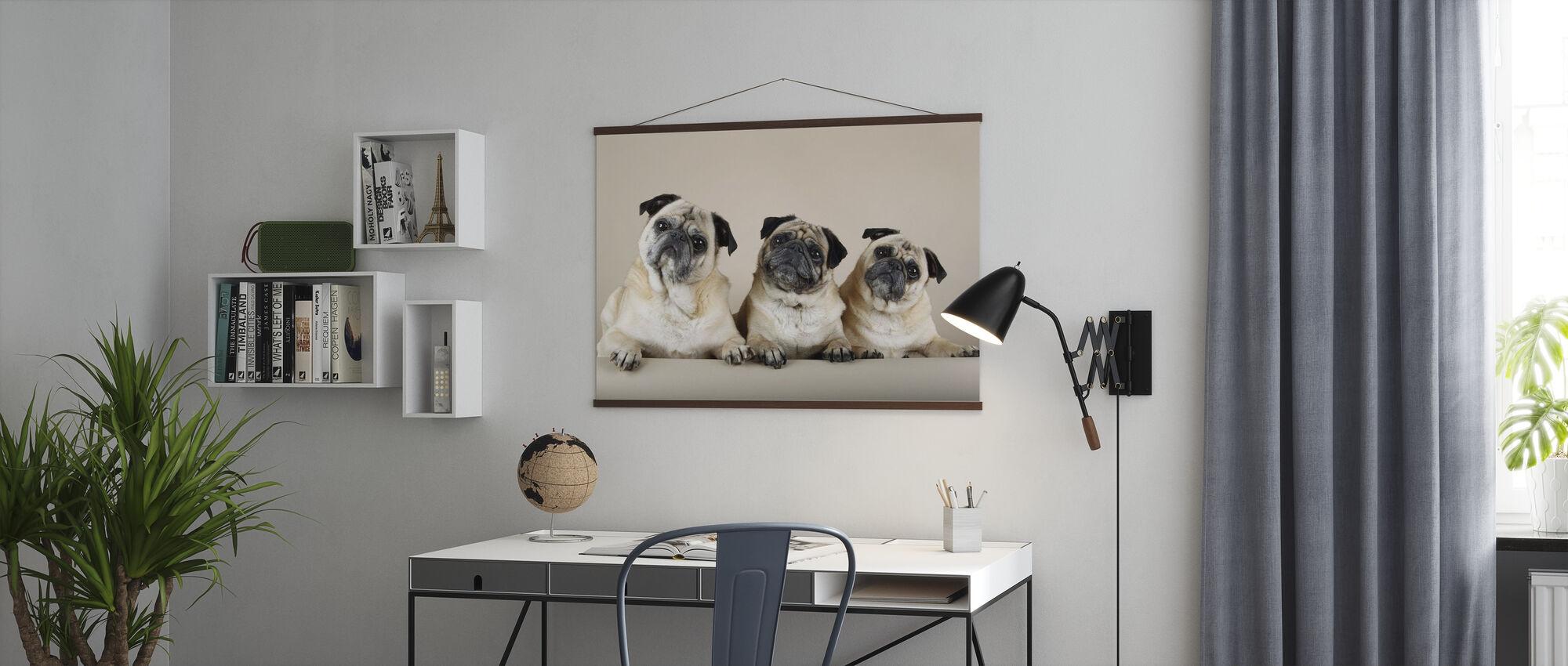 Trio - Poster - Kantoor