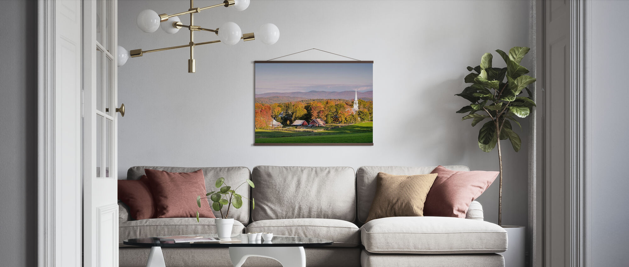 Rural Attraction - Poster - Living Room