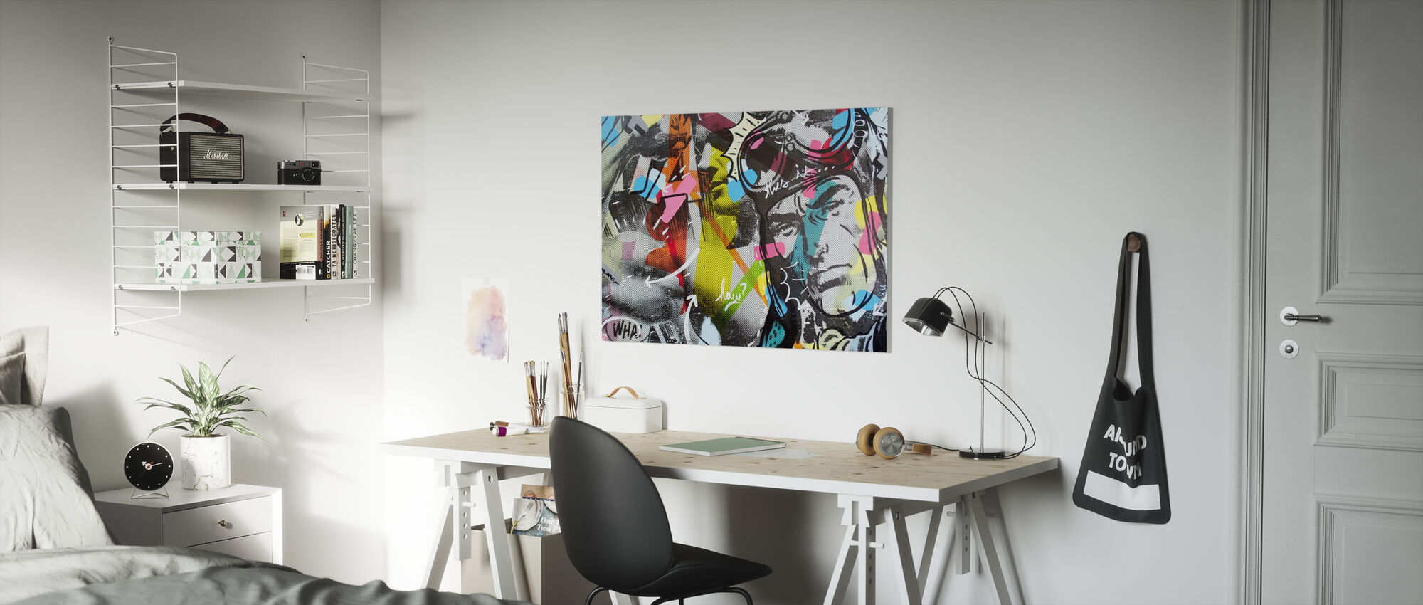 Strongman - Canvas print - Kids Room