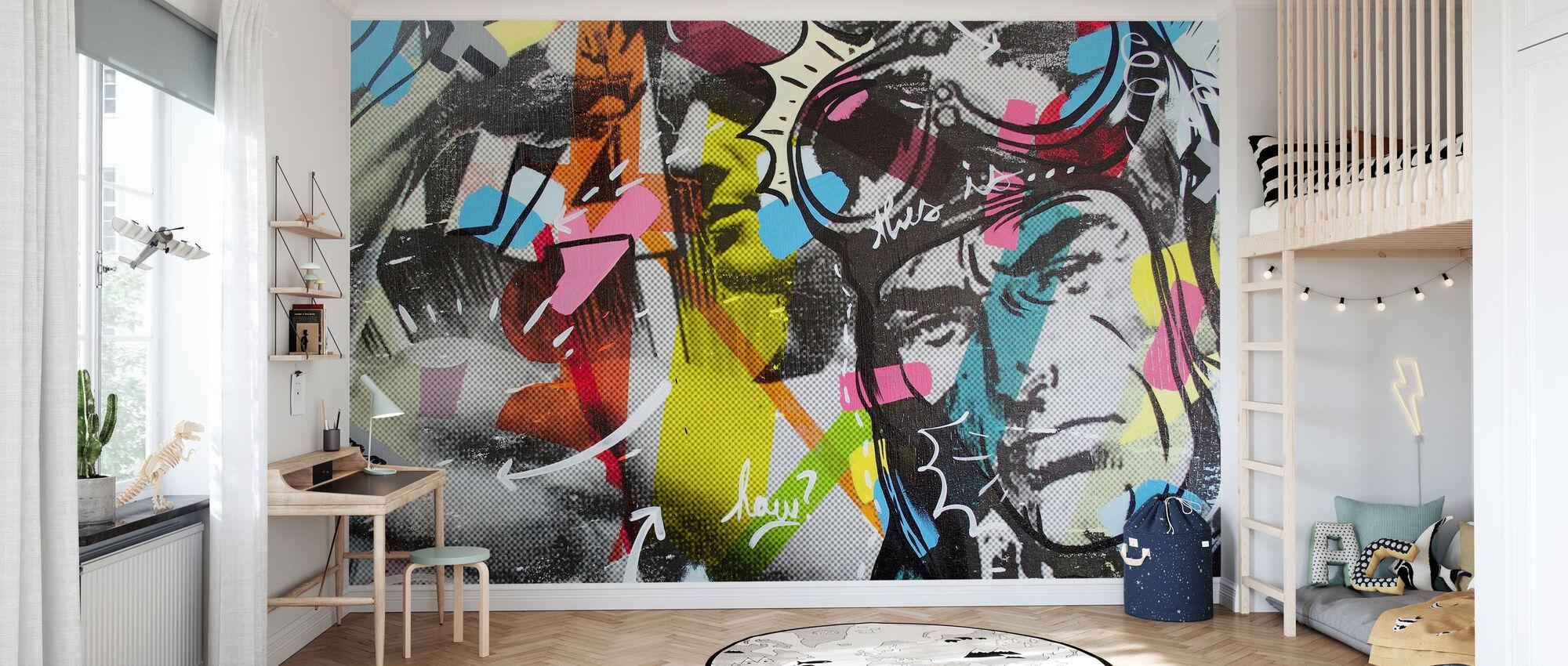 Strongman - Wallpaper - Kids Room