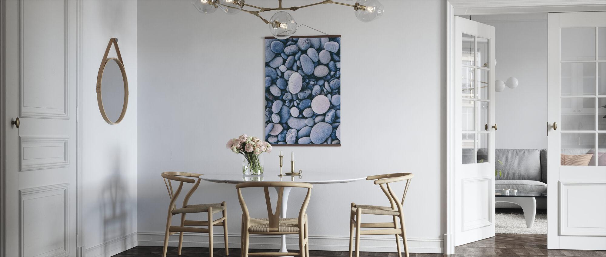 Glatte Kieselsteine - Poster - Küchen