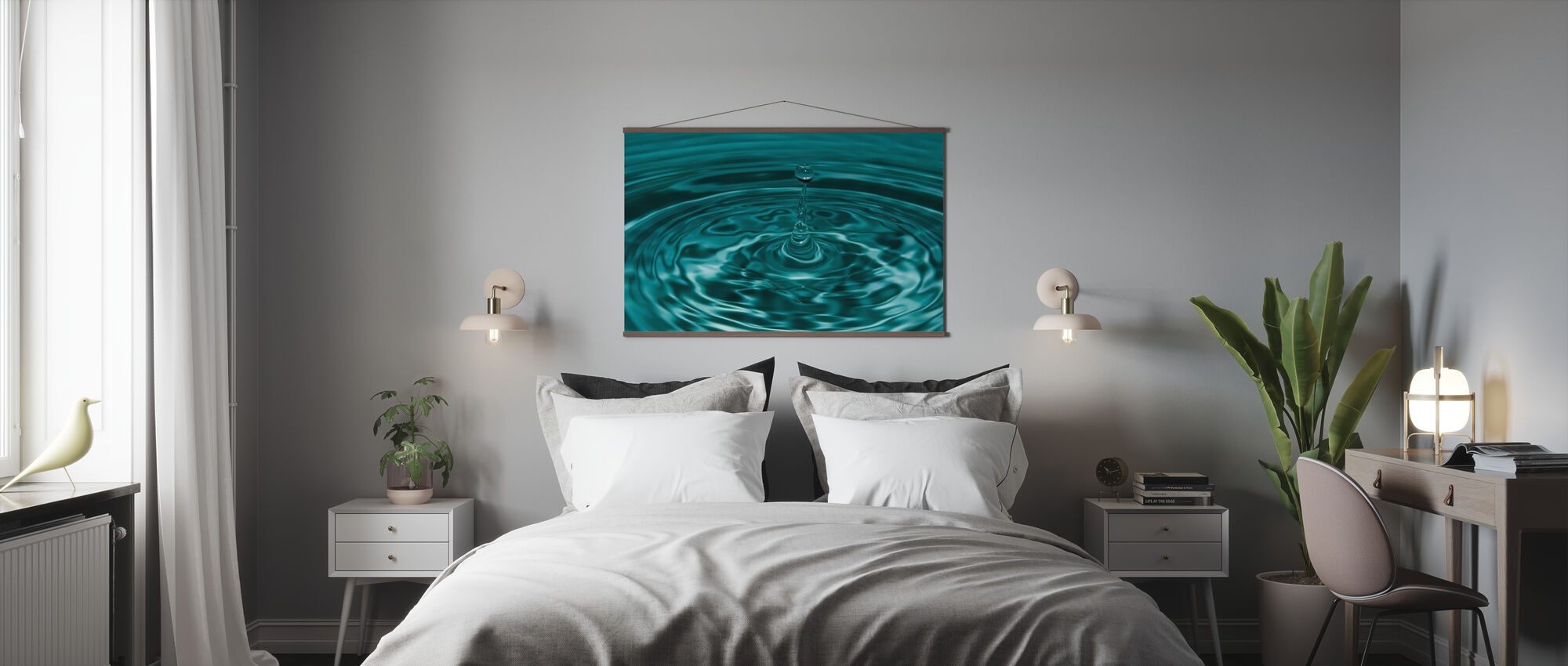 Droplet - Poster - Bedroom