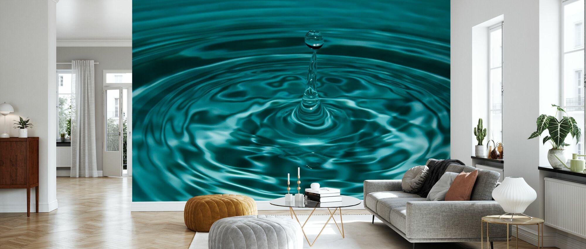 Droplet - Wallpaper - Living Room