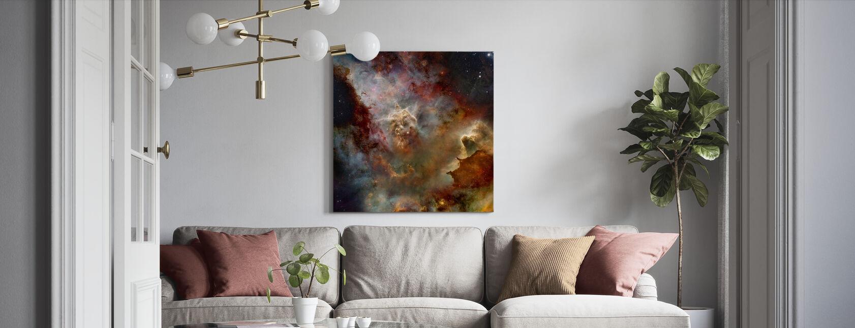 Diepe Ruimtenevel - Canvas print - Woonkamer
