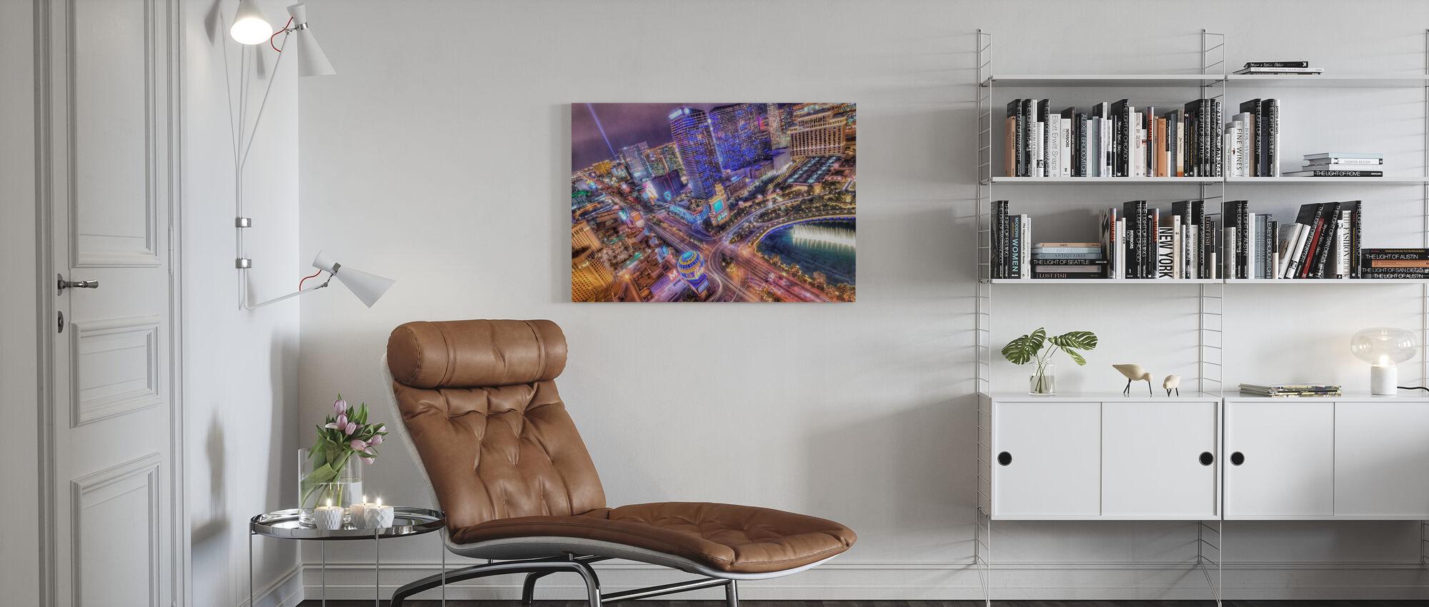 Vegas - Canvas print - Living Room