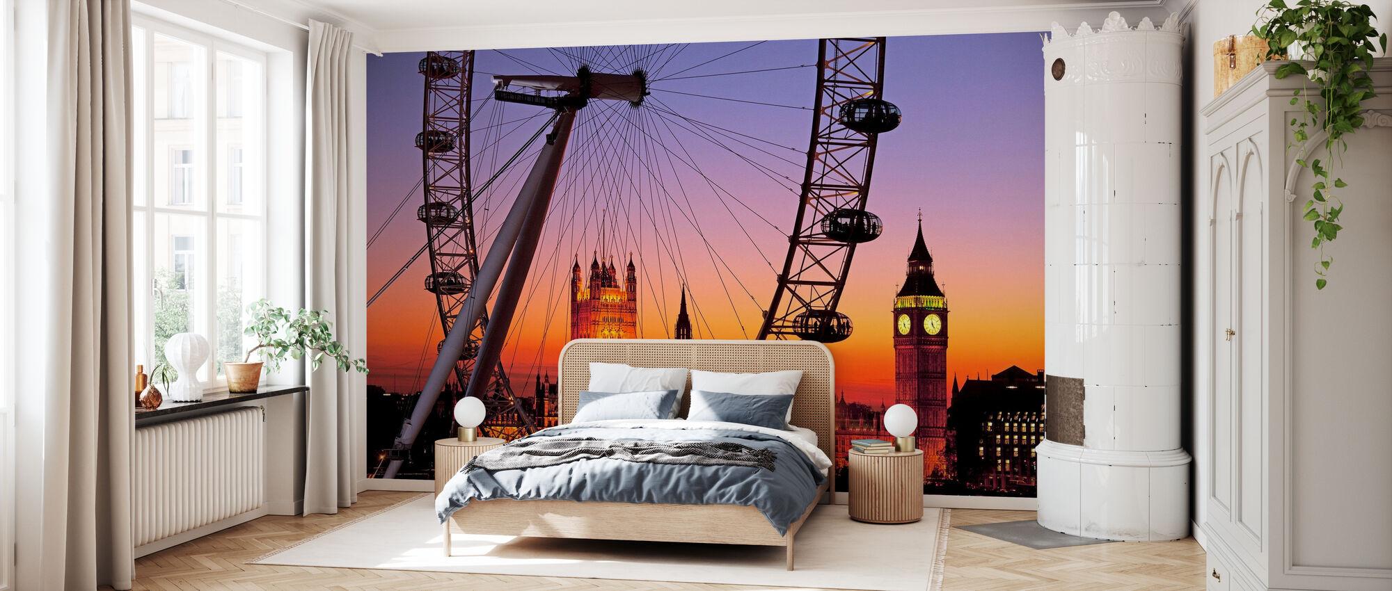 London Eye - Tapet - Soverom