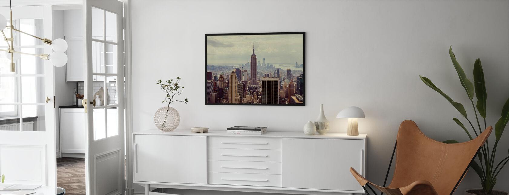 Das ist Manhattan. - Poster - Wohnzimmer