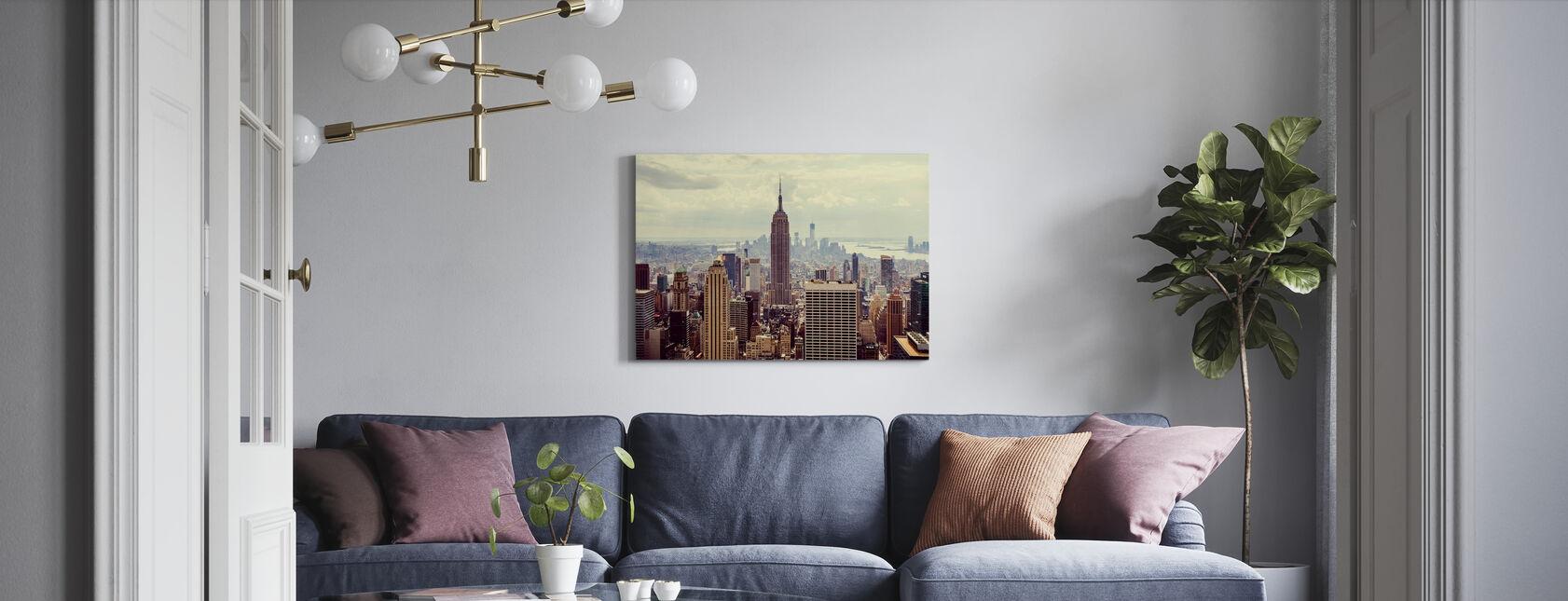 Det er Manhattan. - Billede på lærred - Stue