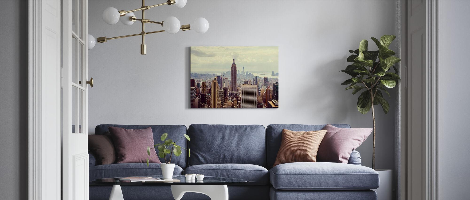Dit is Manhattan. - Canvas print - Woonkamer