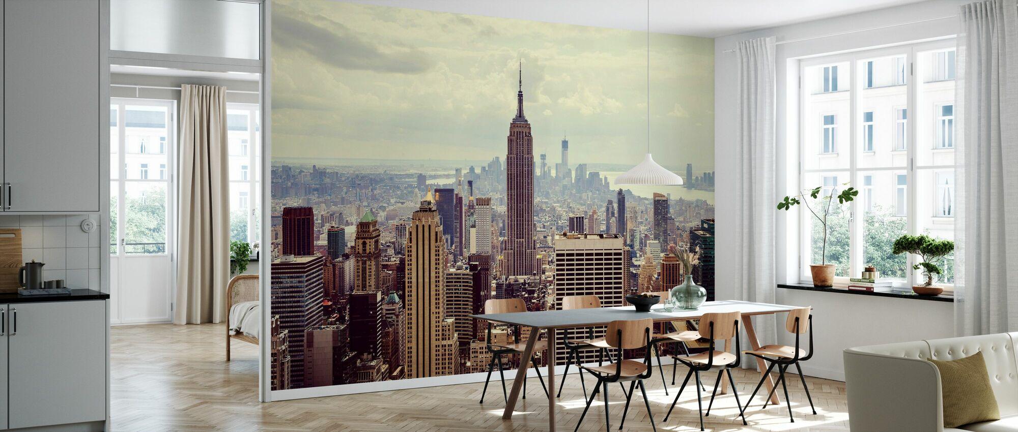 Das ist Manhattan. - Tapete - Küchen