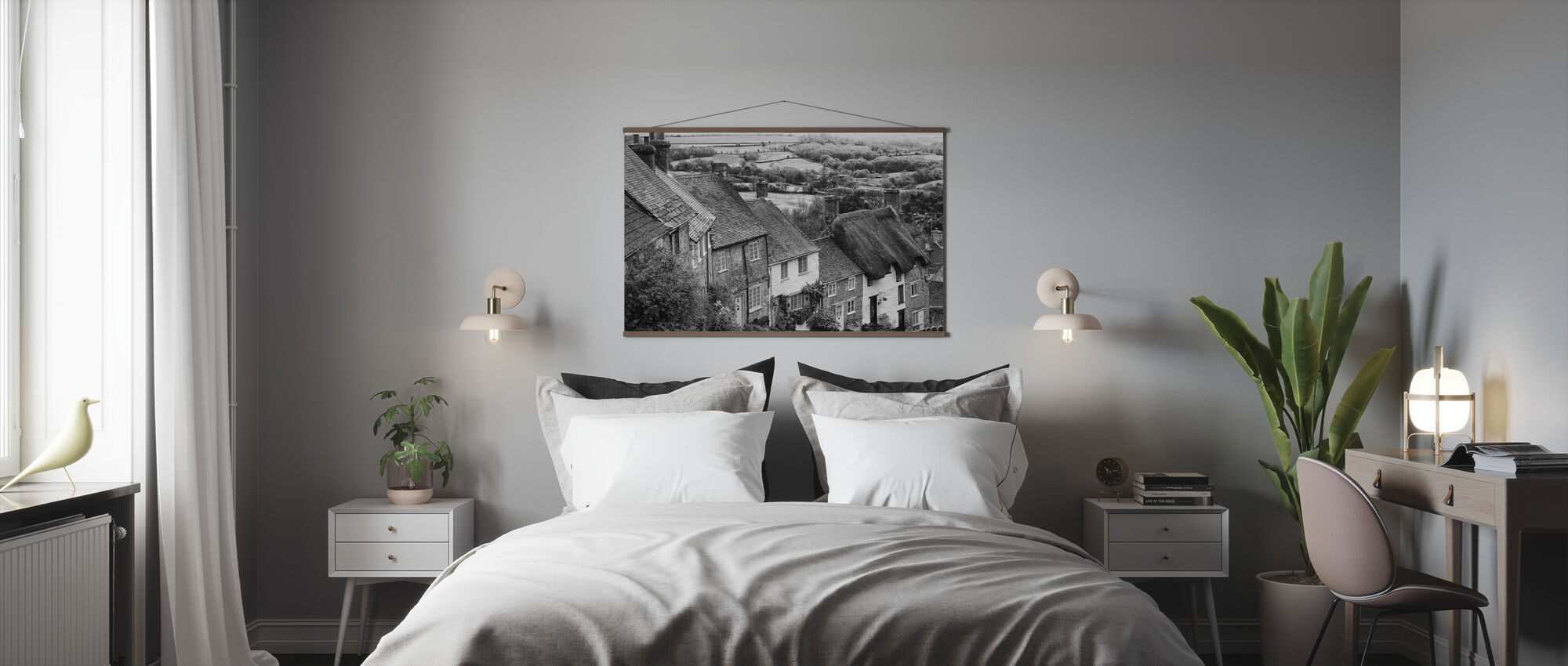 Kulta Hill Shaftsbury Somerset - Juliste - Makuuhuone