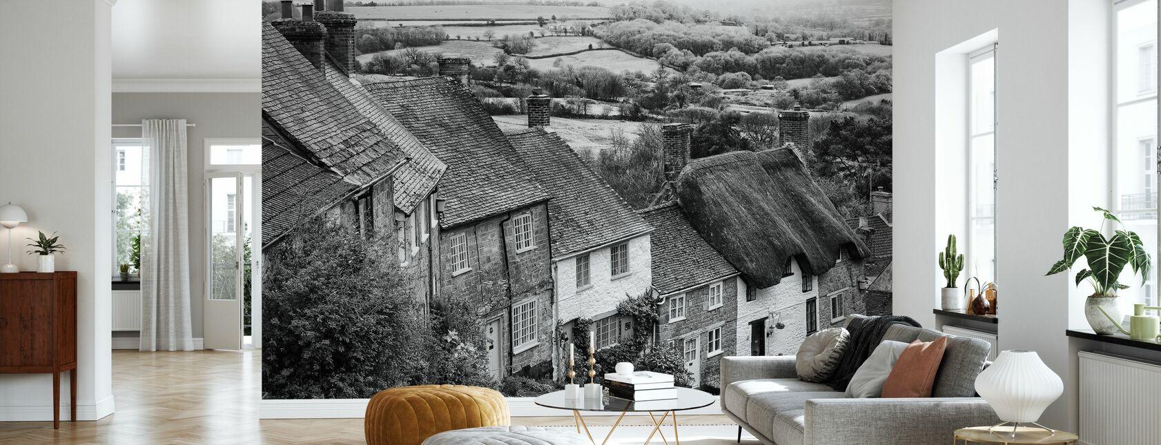 Gold Hill Shaftsbury Somerset - Wallpaper - Living Room
