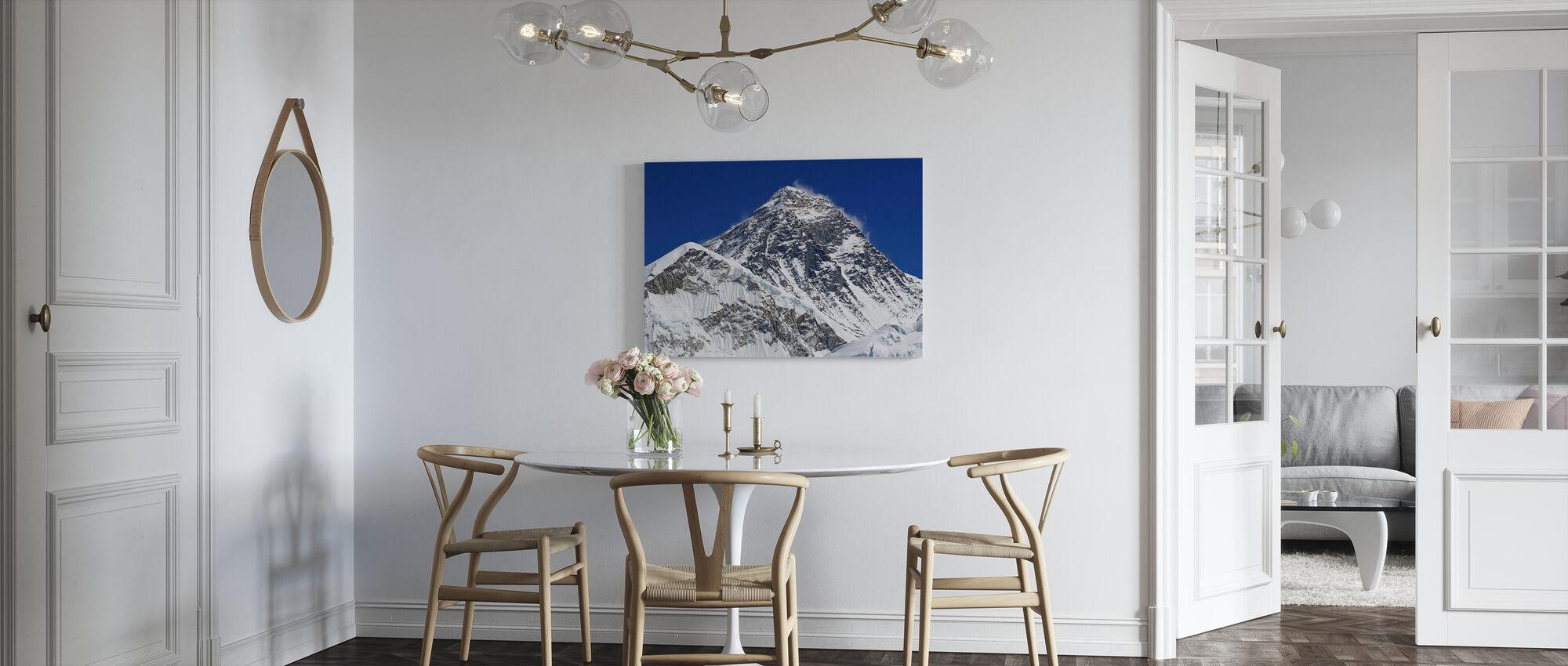 Mt Everest - Canvas print - Kitchen