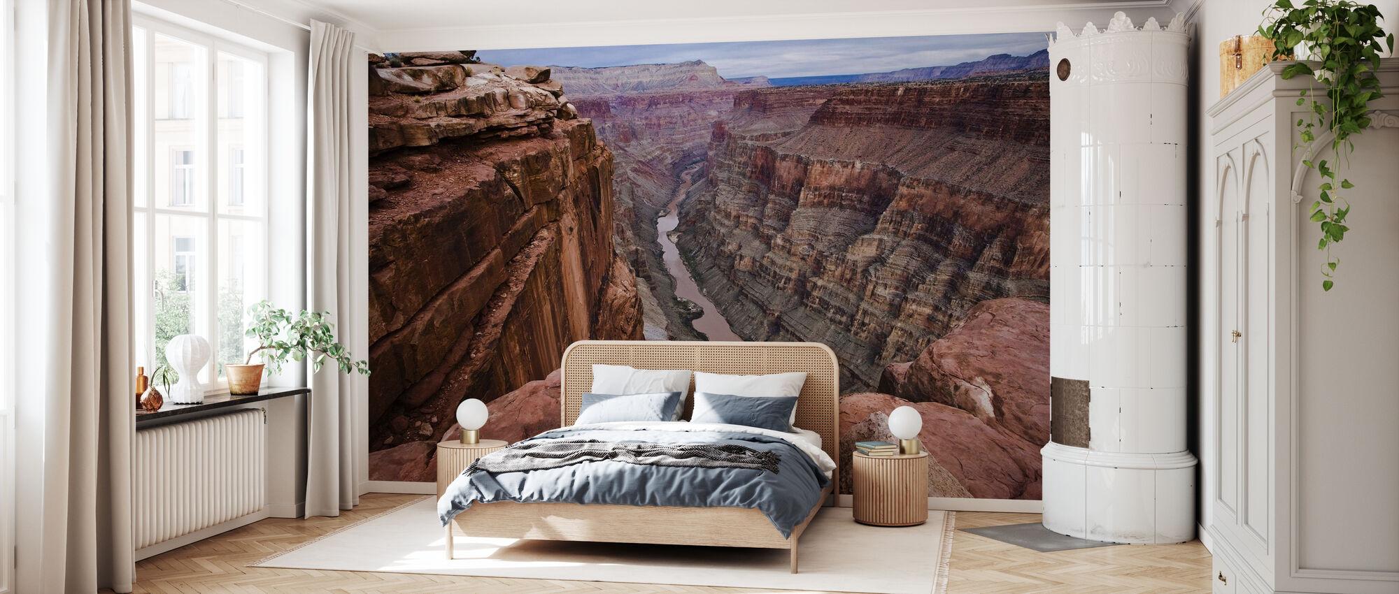 High above the Colorado River - Wallpaper - Bedroom