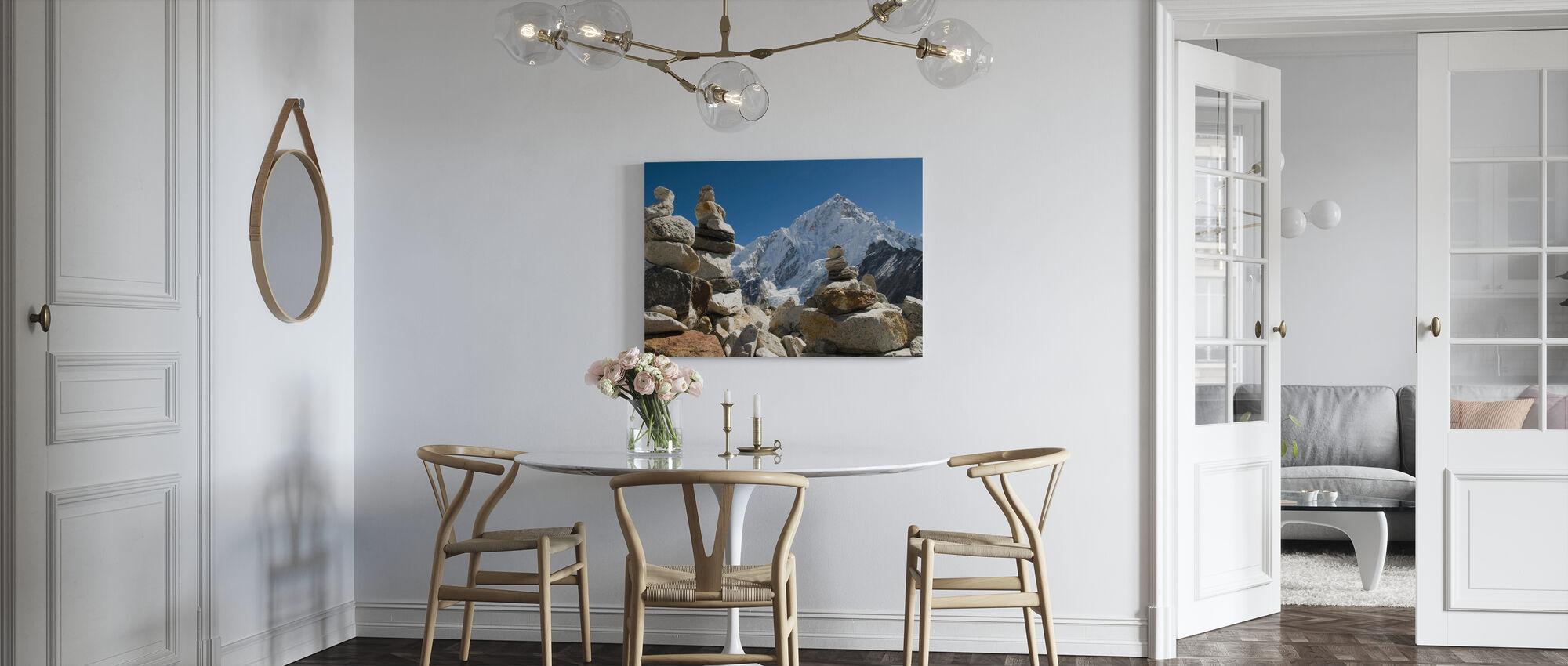 Rotspalen in de Himalaya - Canvas print - Keuken