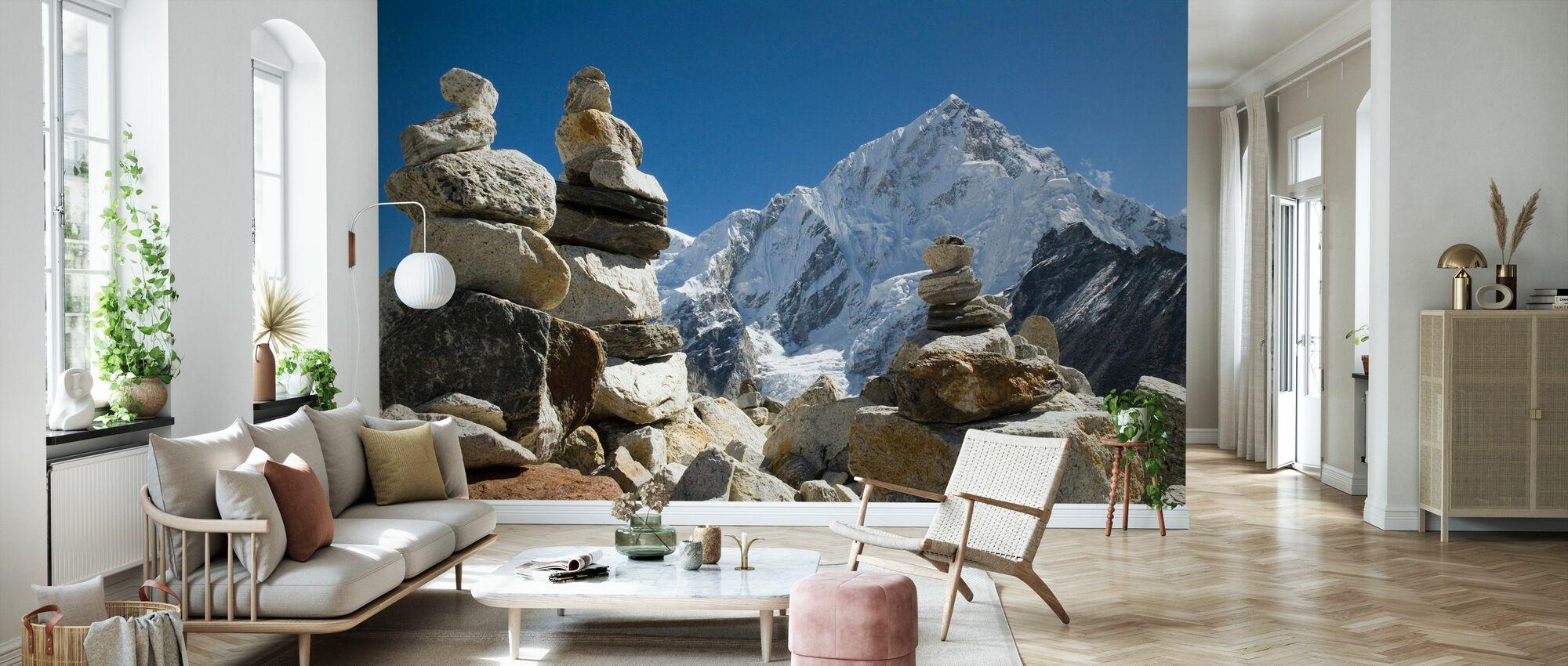 Klipphögar i Himalaya - Tapet - Vardagsrum