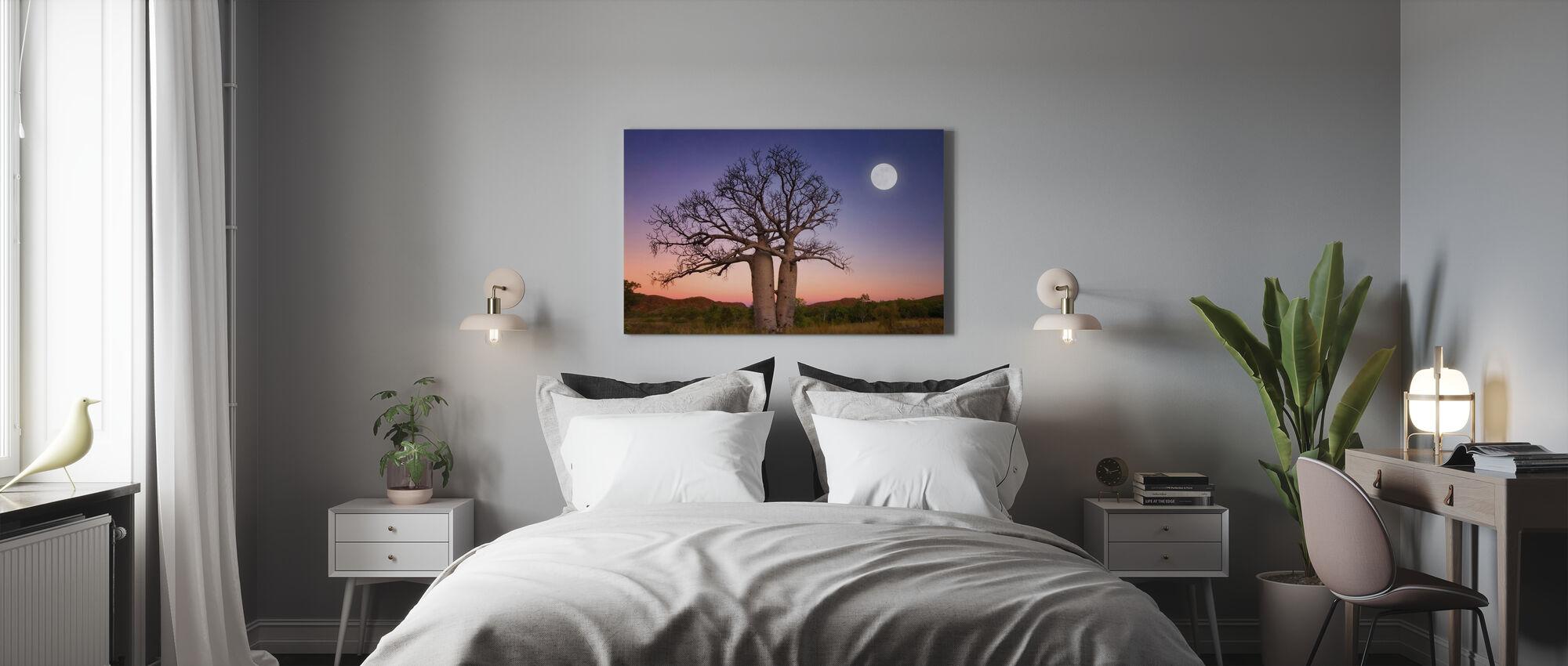 Dancing Boabs Kununurra - Canvas print - Bedroom