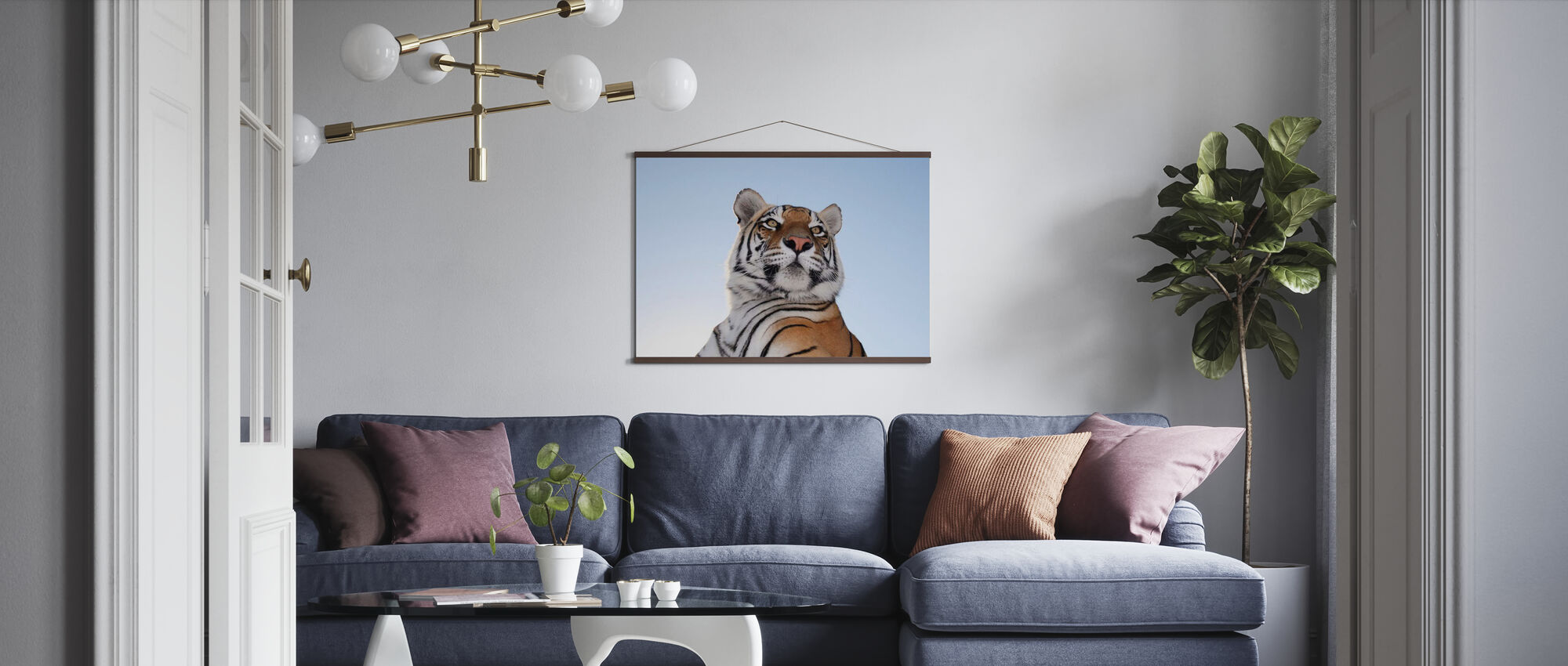 King of the Mountain - Poster - Living Room