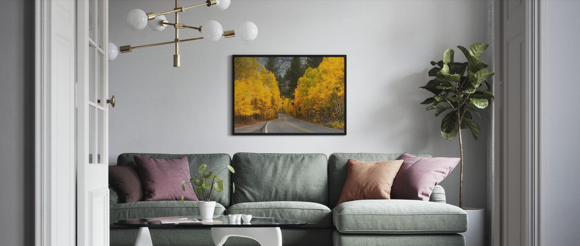 Eastern Sierra Autumn Landscape - Poster - Living Room