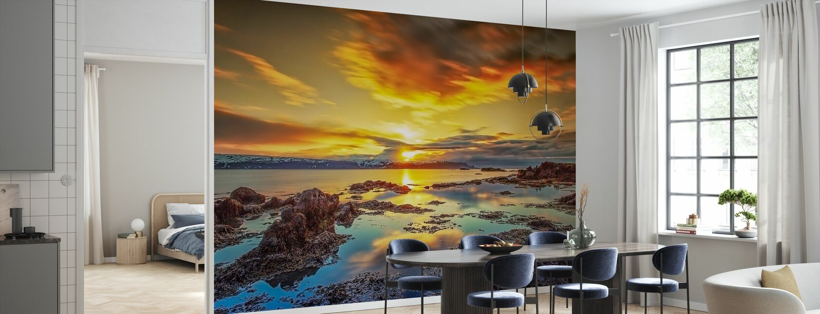 Scenery of West Iceland - Wallpaper - Kitchen