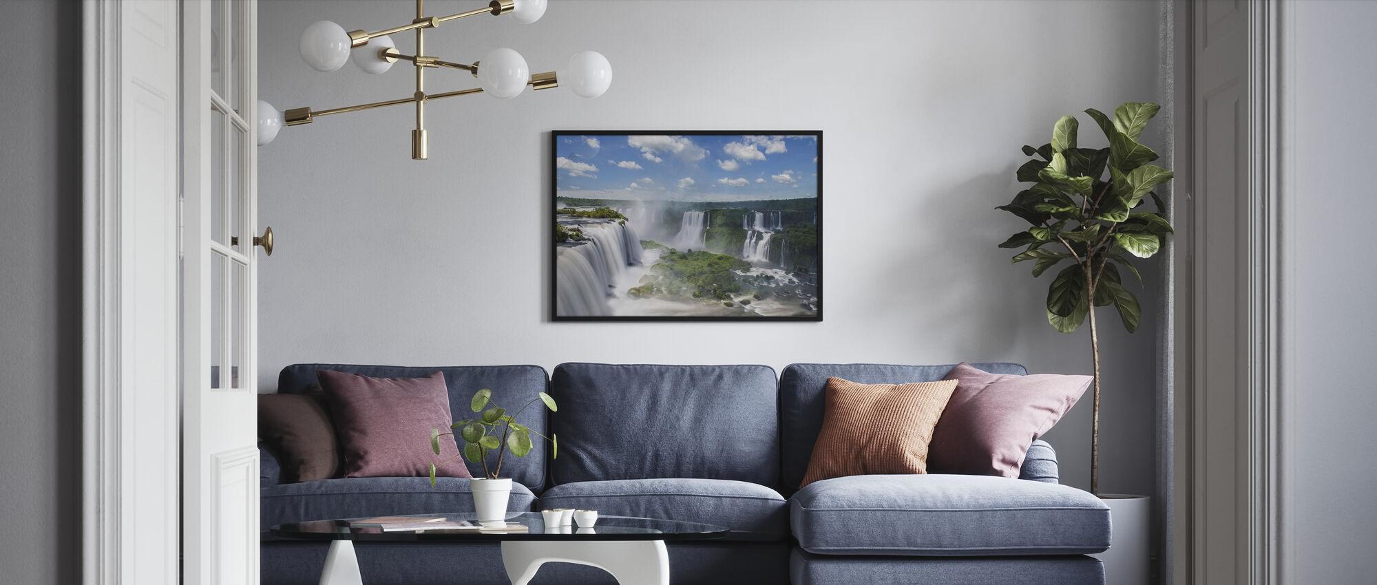 Iguazu Waterfall - Poster - Living Room