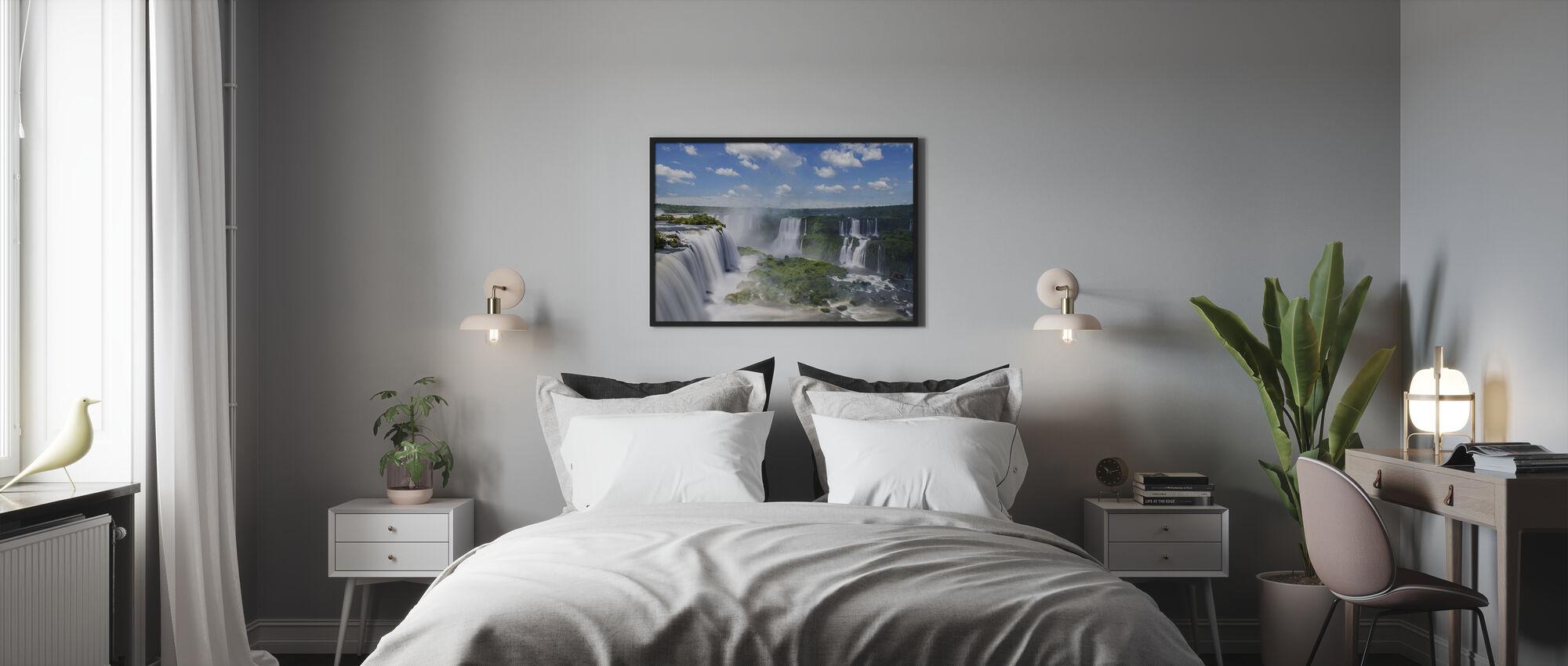 Iguazu Waterfall - Framed print - Bedroom