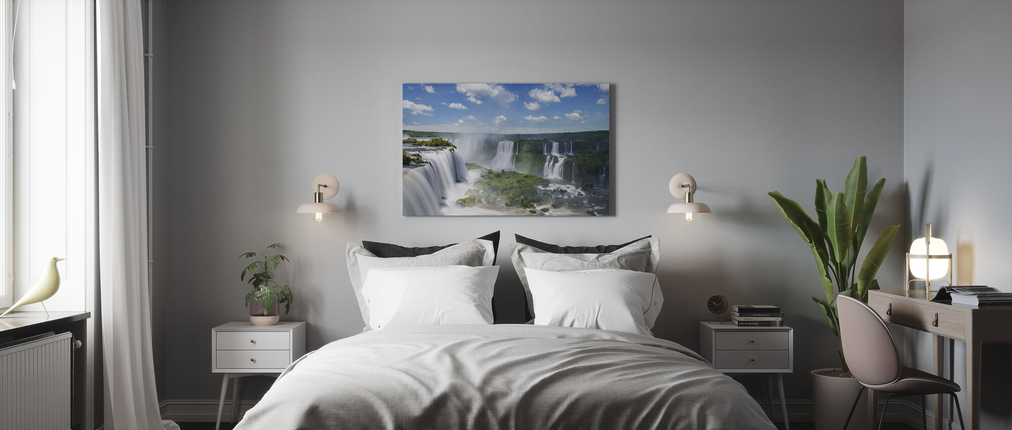 Iguazu vattenfall - Canvastavla - Sovrum