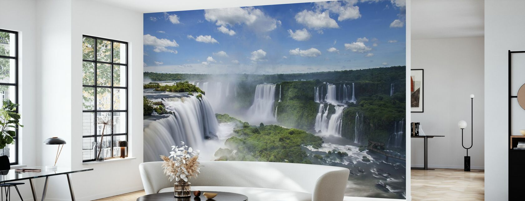 Iguazu Waterfall - Wallpaper - Living Room