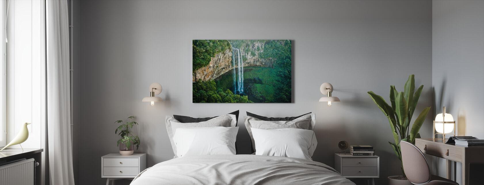 Hochtauchen - Leinwandbild - Schlafzimmer