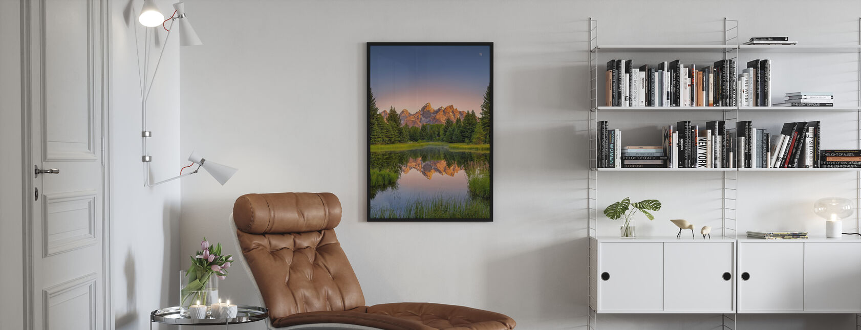 Dawn at Schwabacher's Landing - Poster - Living Room