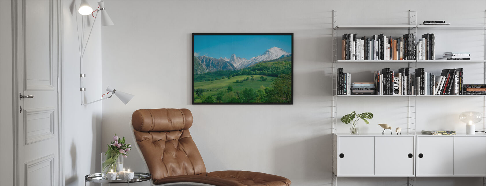 Great Limestone Peak - Poster - Living Room
