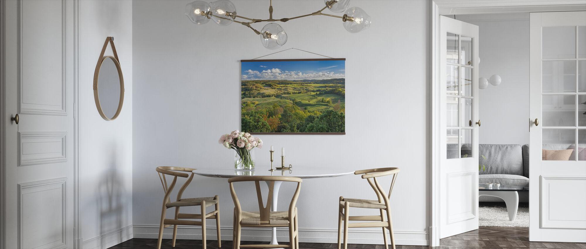 Ruotsin avoin maaseutu - Juliste - Keittiö