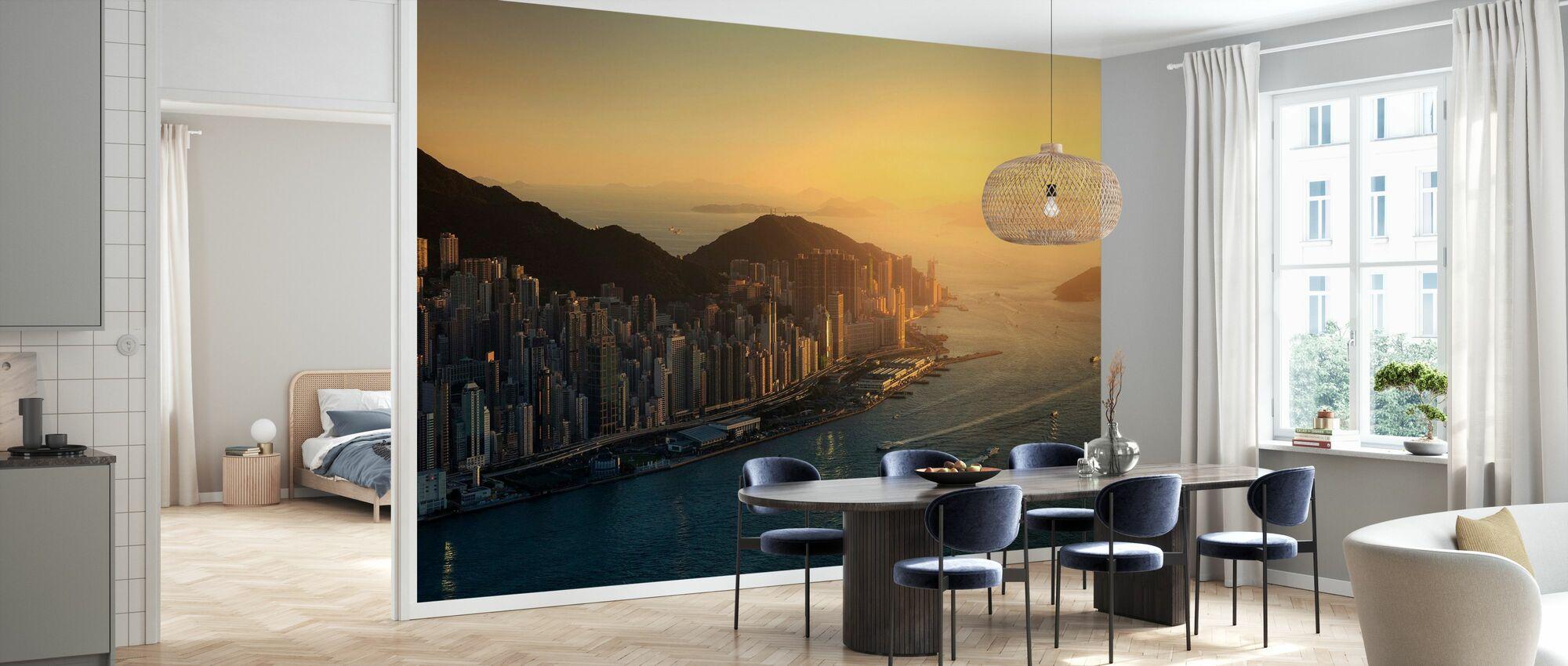 Hongkongs kust - Tapet - Kök