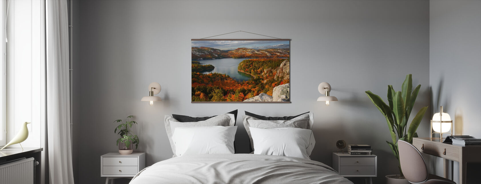 Fall at Killarney Lake - Poster - Bedroom