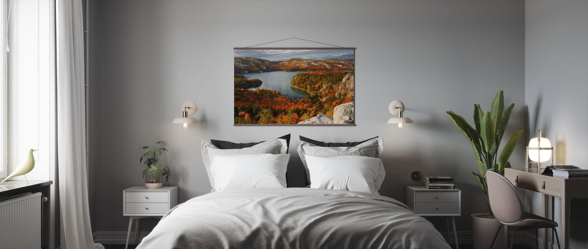 Fall at Killarney Lake - Poster - Bedroom