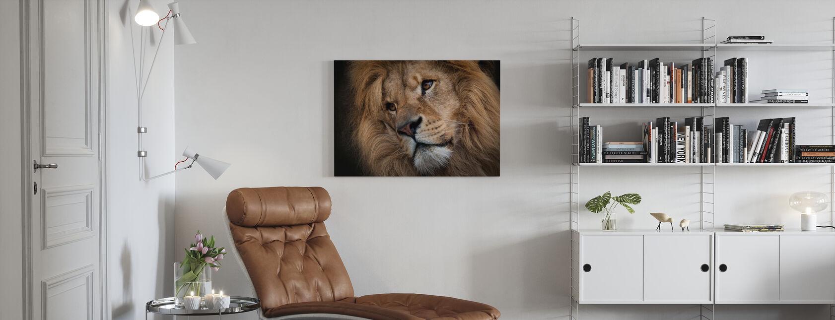 Leo - Canvas print - Living Room
