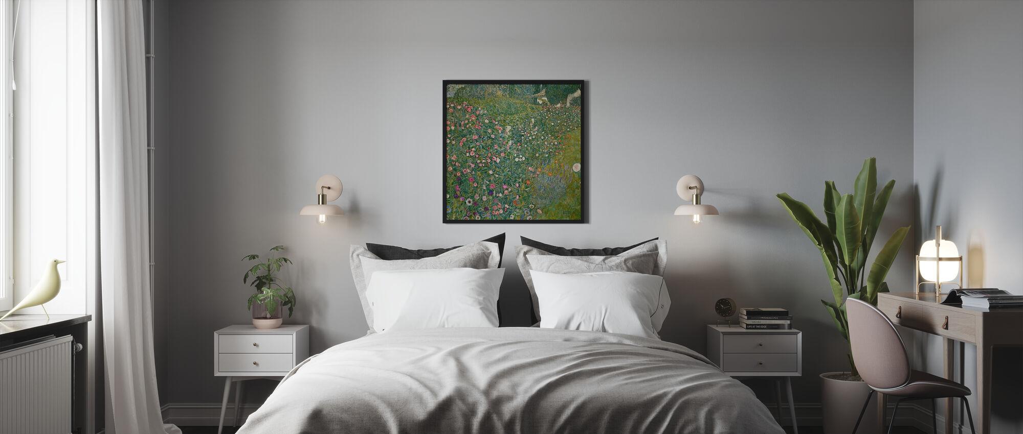 Klimt, Gustav - Italiaans tuinlandschap - Ingelijste print - Slaapkamer