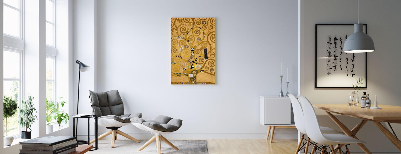 Klimt, Gustav - L'albero della vita - Stampa su tela - Salotto