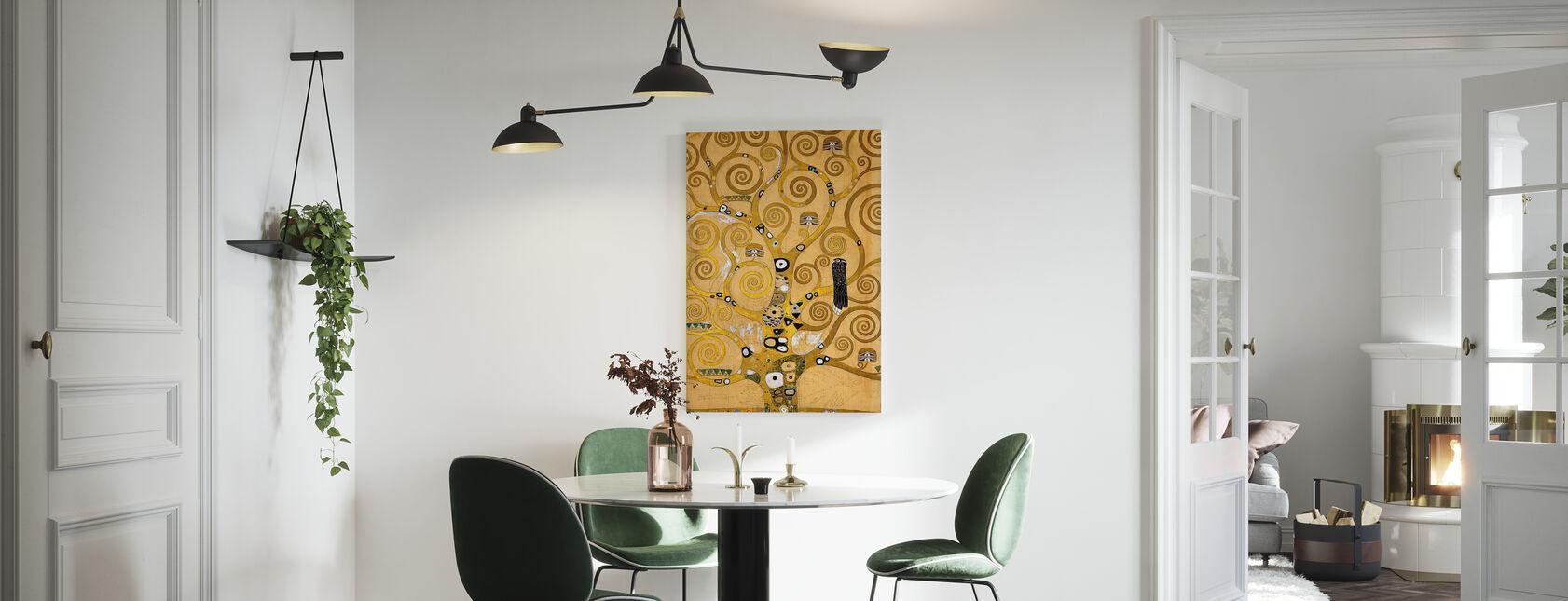 Klimt, Gustav - L'albero della vita - Stampa su tela - Cucina