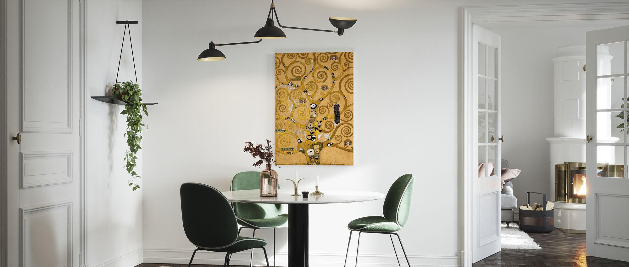 Klimt, Gustav - The Tree of Life - Canvas print - Kitchen
