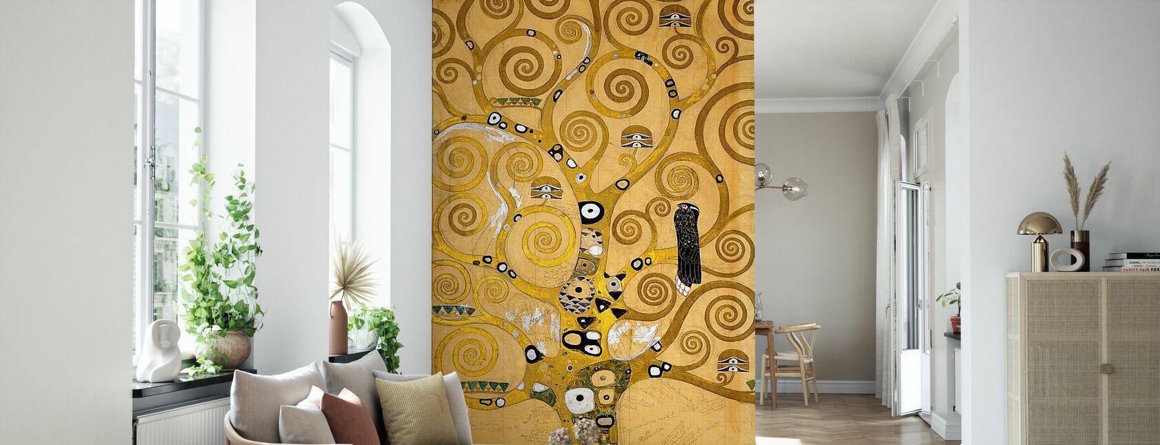 Klimt, Gustav - The Tree of Life - Wallpaper - Living Room