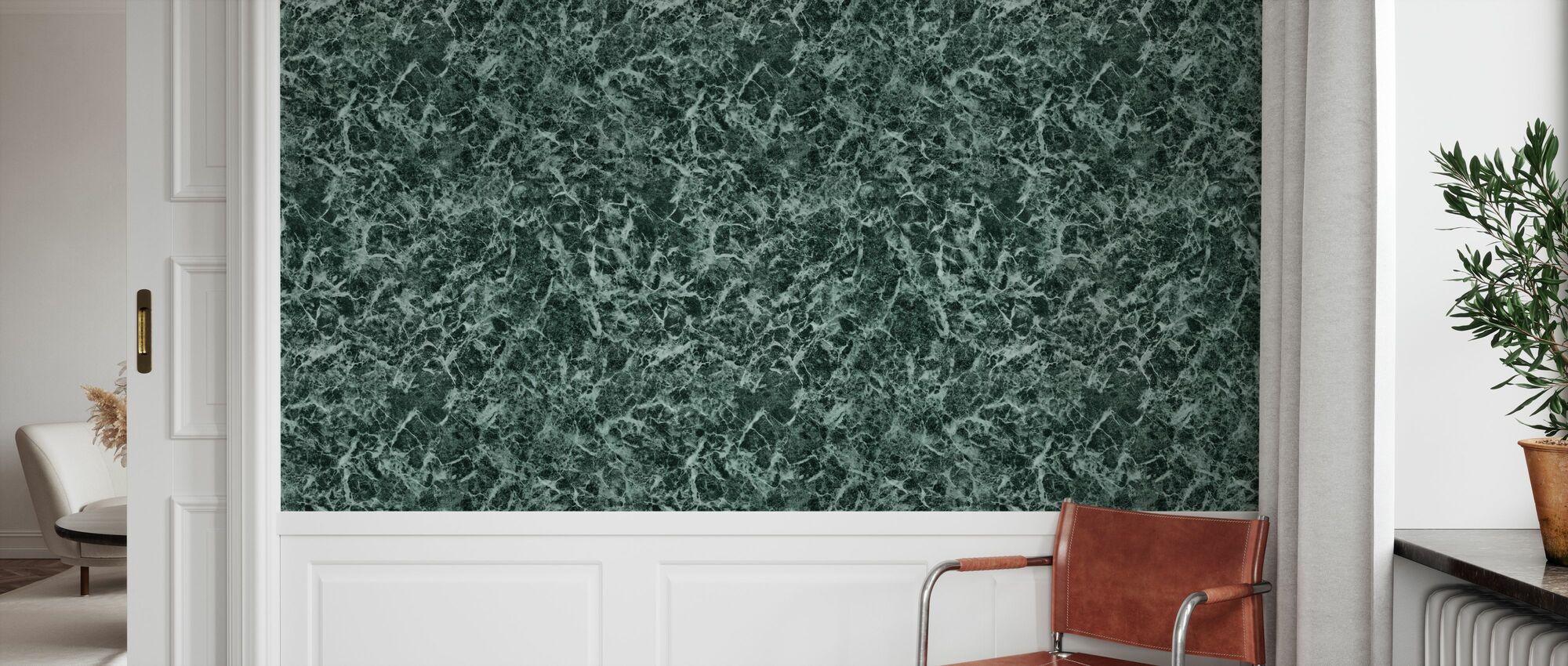 Green Marble - Wallpaper - Hallway