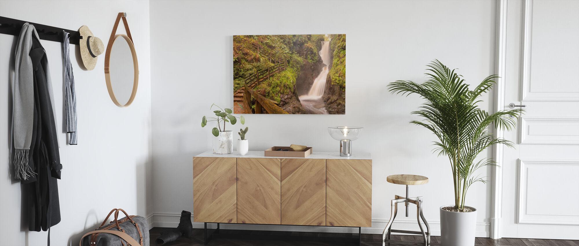 Spiritual Climbing - Canvas print - Hallway