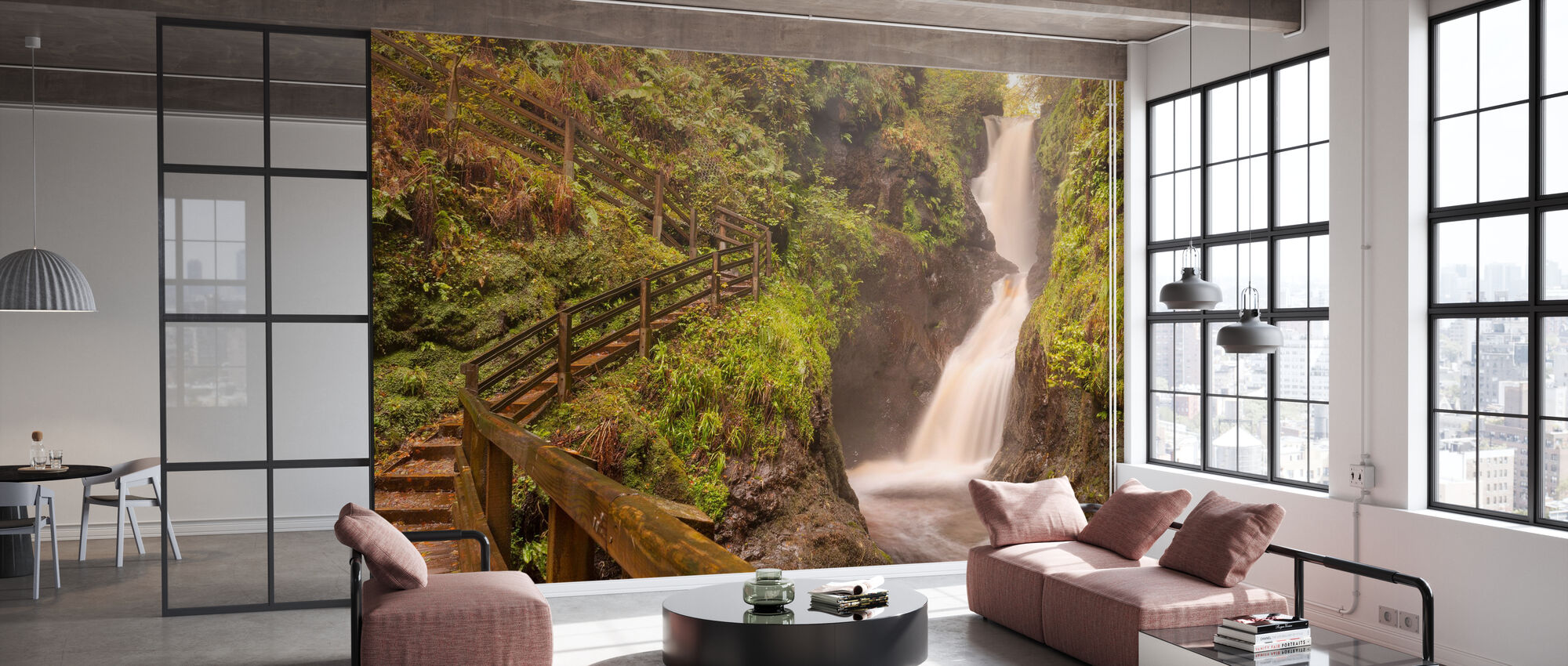Spiritual Climbing - Wallpaper - Office