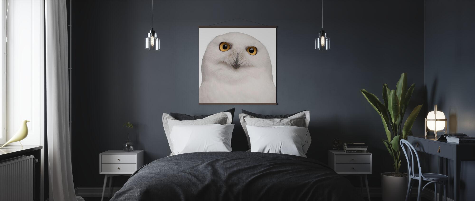Sneeuwuil - Poster - Slaapkamer