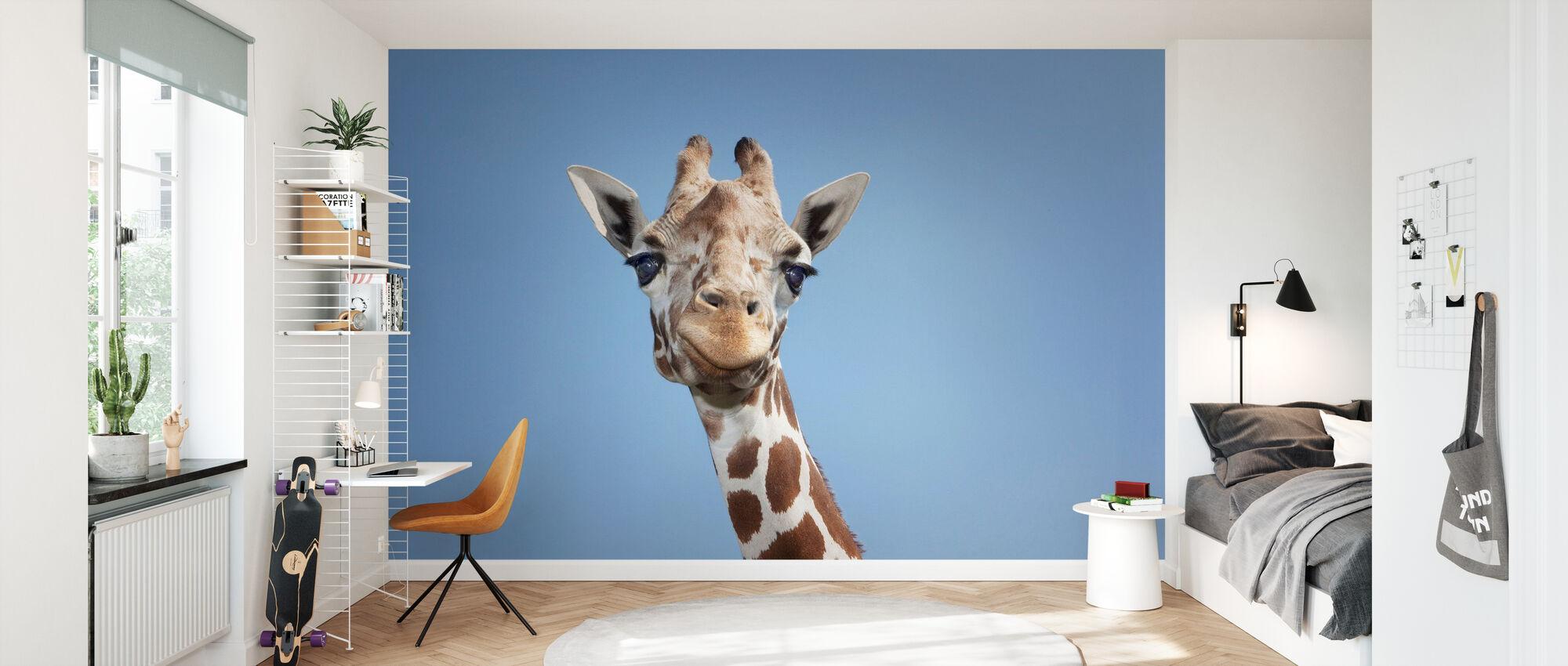 Giraffa più alta - Carta da parati - Camera dei bambini